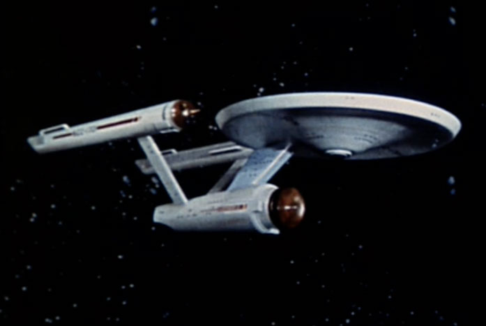 The USS Enterprise NCC-1701