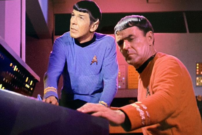 Mr. Scott and Mr. Spock