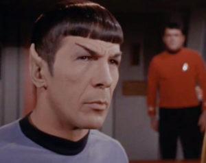 Mr. Spock and Mr. Scott