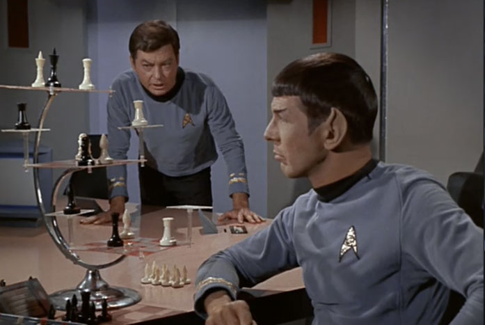 Spock and Chess