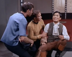 Sulu disoriented