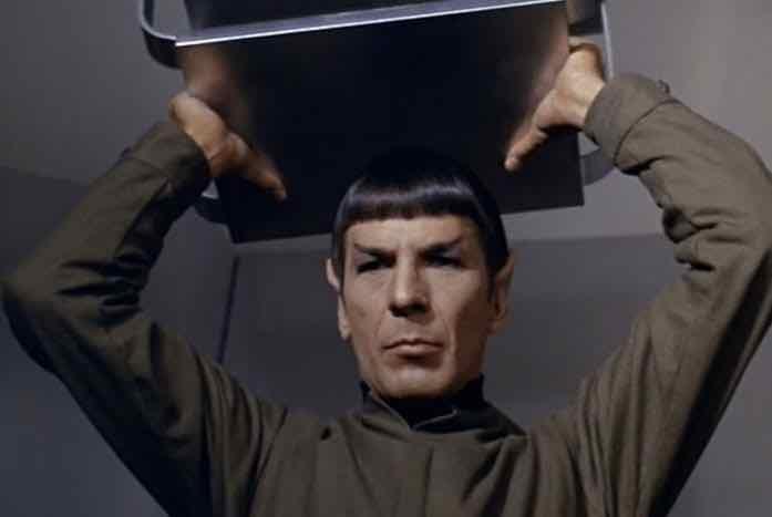 Angry Spock