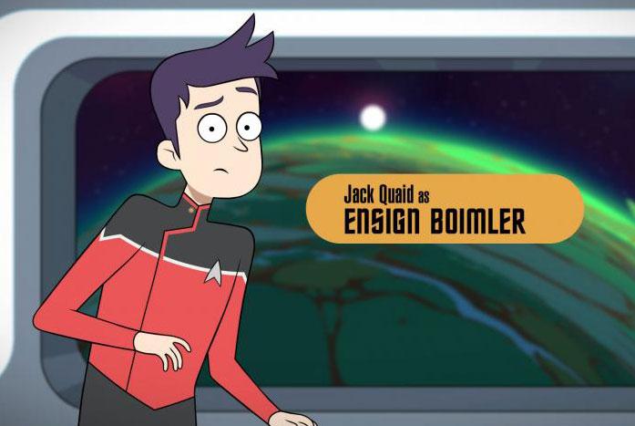 Ensign Brad Boimler