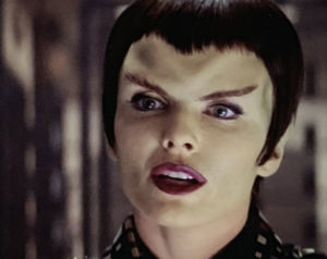 Romulan Commander Donatra