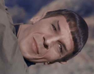 Spock Smiling