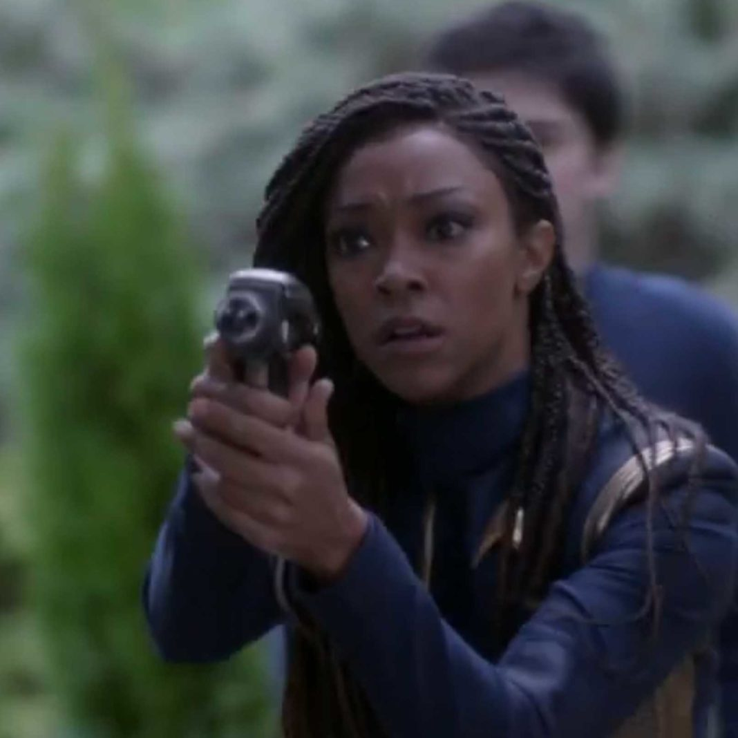 Sonequa Martin-Green stars as Michael Burnham