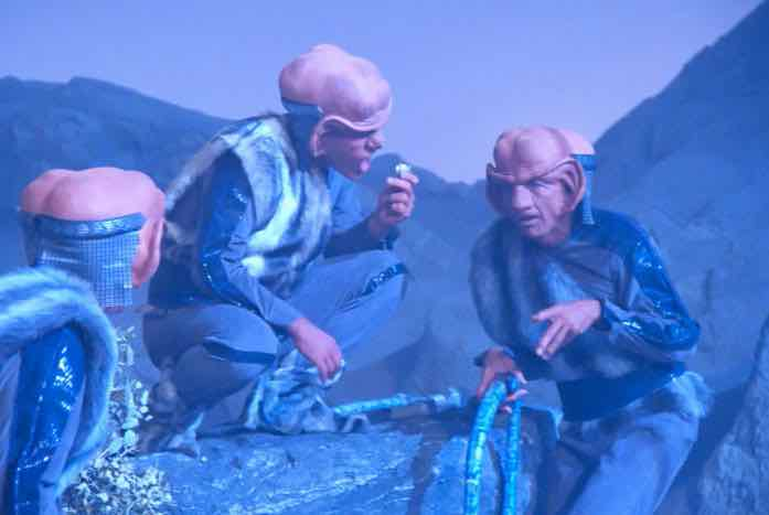 The Ferengi — in person