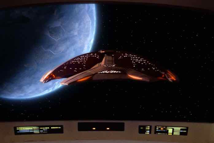 The Ferengi ship