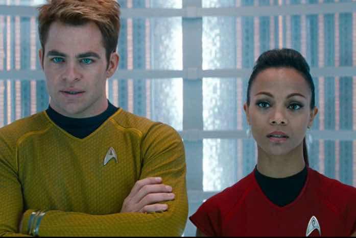 Kirk and Uhura