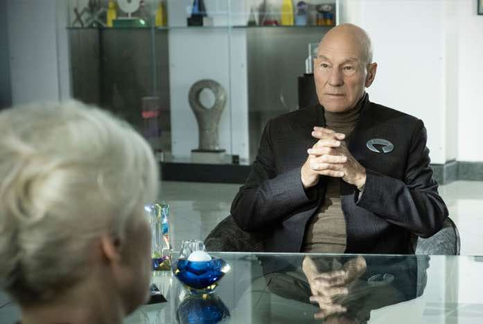 Picard's meeting with the CNC