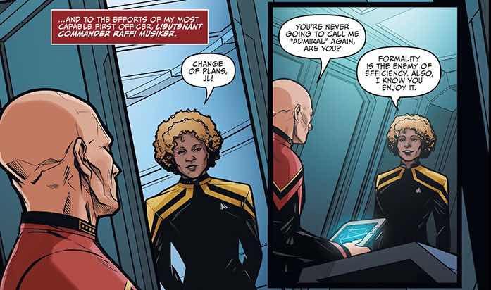 Picard comic book