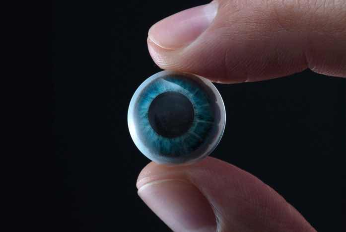 Mojo Vision's new lens | Courtesy of Mojo Vision