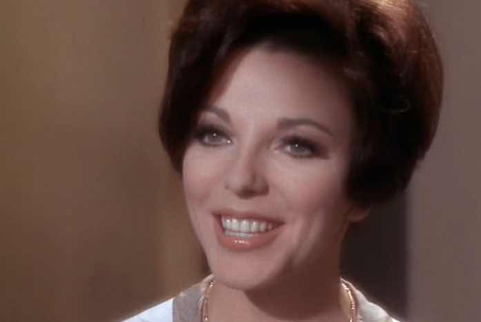 Sister Edith Keeler, played by Joan Collins. Courtesy of CBS / Paramount