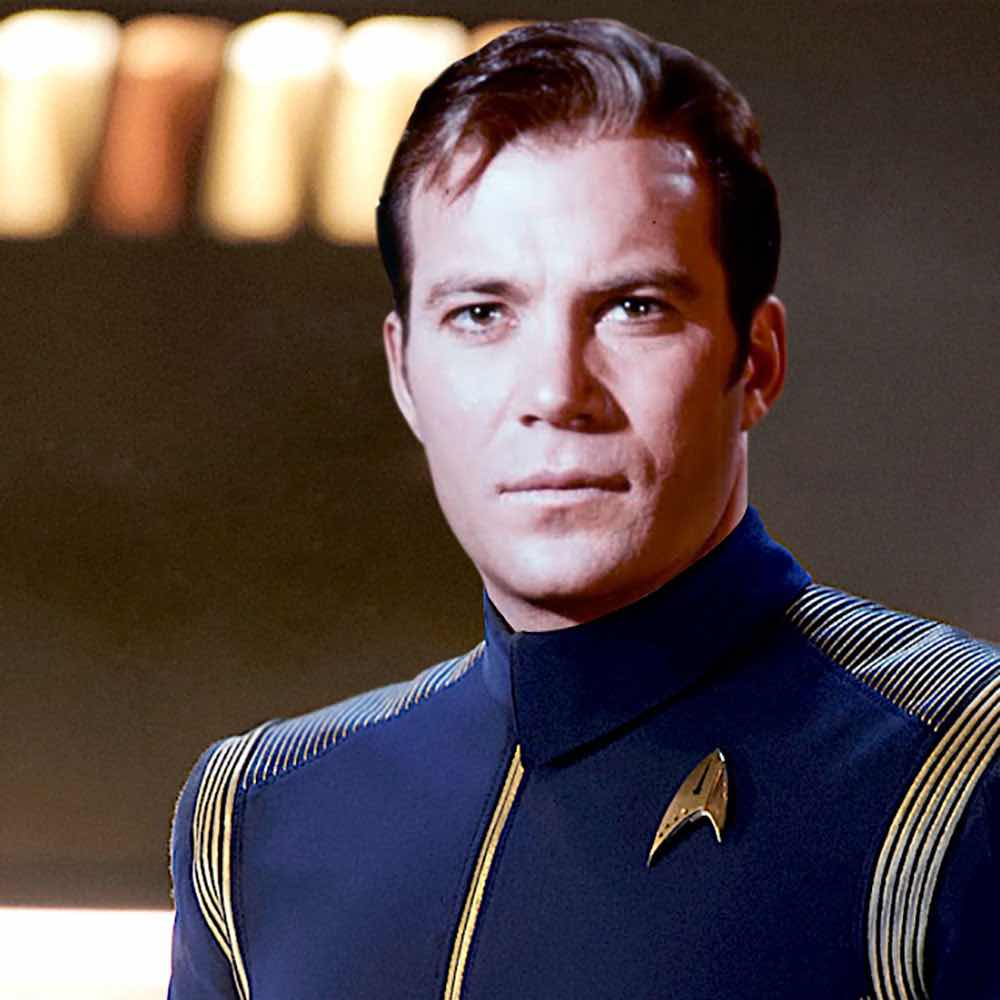 Kirk in Discovery-era uniform