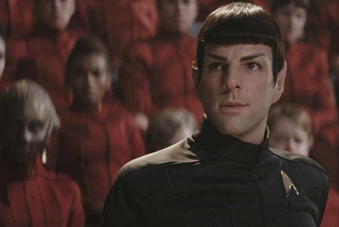 Zachary Quinto as Spock. Courtesy of Paramount