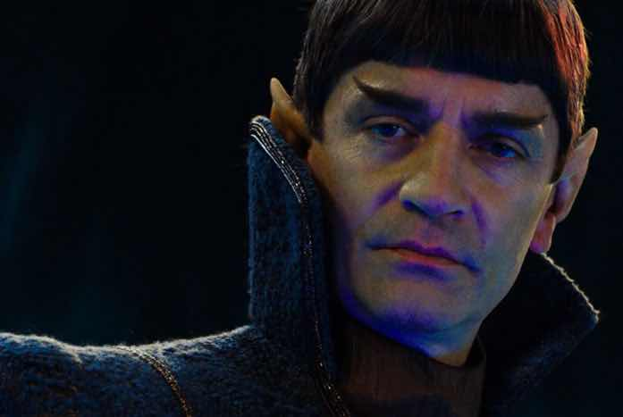 Sarek as portrayed by James Frain. Courtesy of CBS