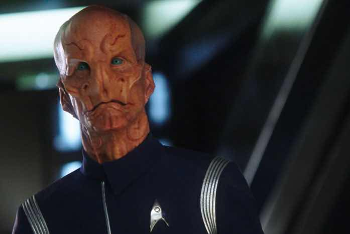 Doug Jones as Saru. Courtesy of CBS