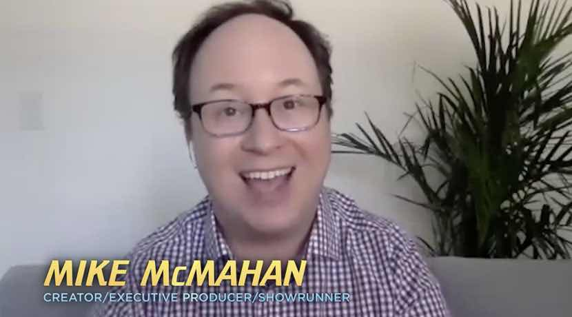 Mike McMahan, Star Trek: Lower Decks creator. Courtesy of CBS All Access