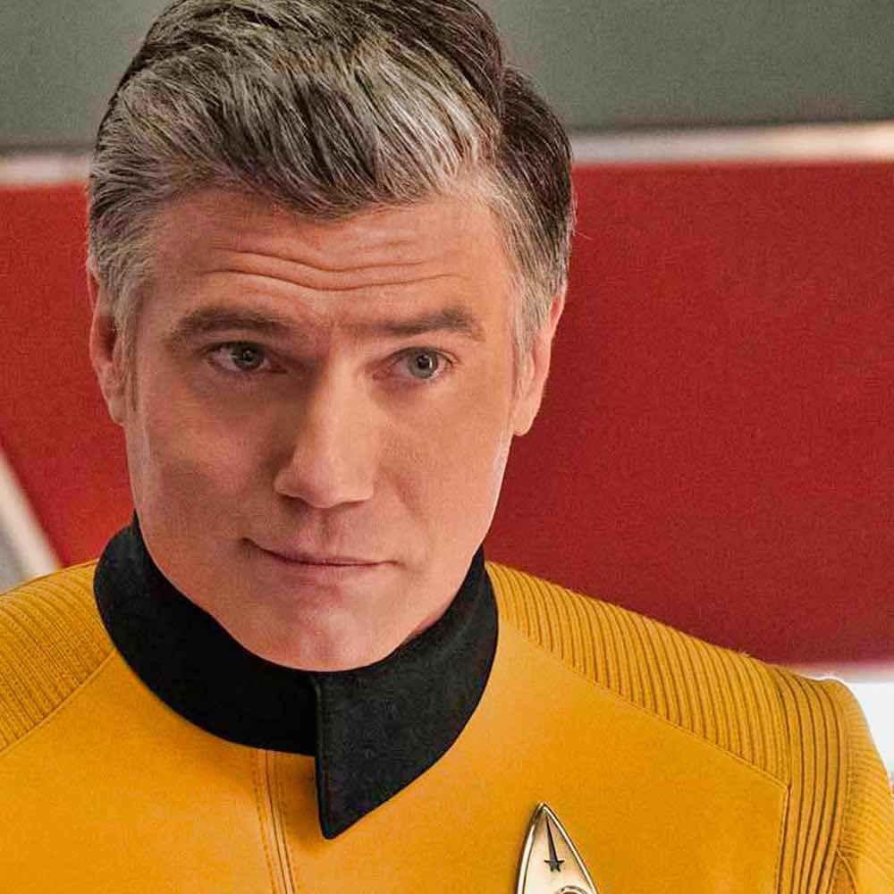 Anson Mount as Pike. Courtesy of CBS