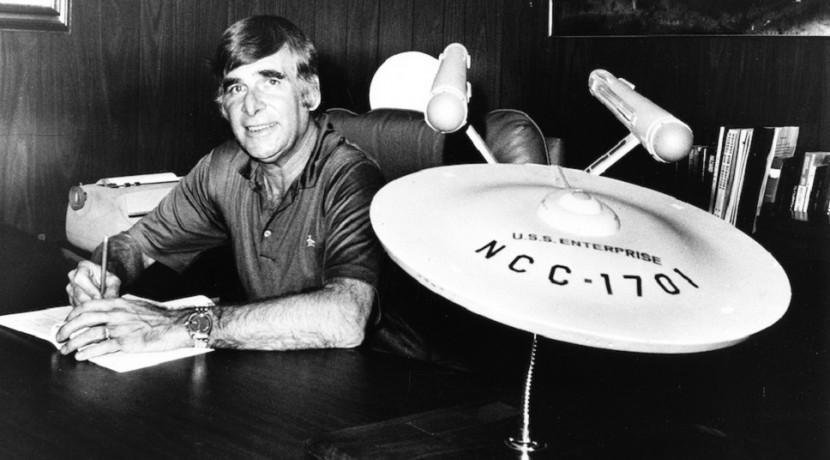 Gene Roddenberry, Star Trek's creator. Courtesy of CBS / Paramount