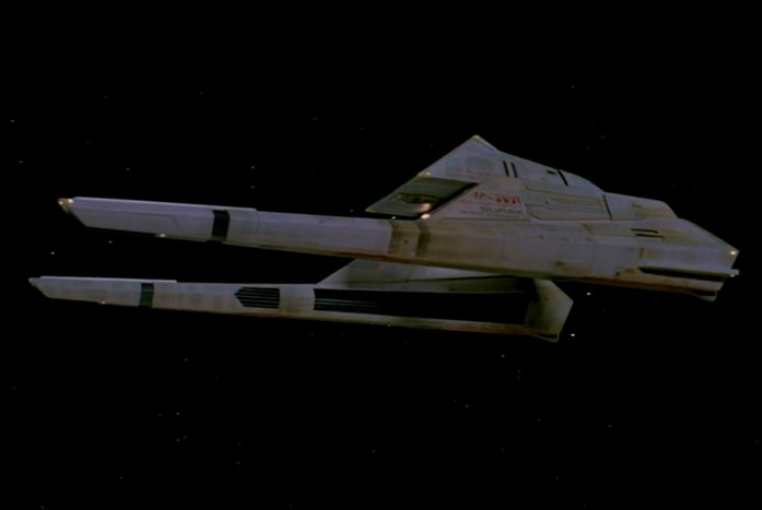 The Vulcan long-range shuttle from The Motion Picture is Probert's favorite vehicle that he designed. Courtesy of Paramount