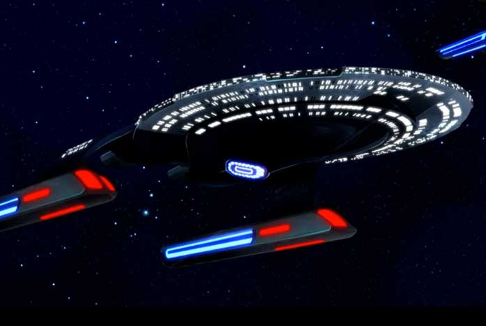The U.S.S. Vancouver (NCC-70492). Courtesy of CBS