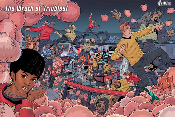 "One of the many puzzles included in ""Quibbles with Tribbles."" Courtesy of Eaglemoss"