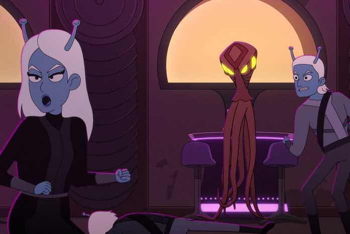 Bringing 'The Animated Series' into canon with a Vendorian
