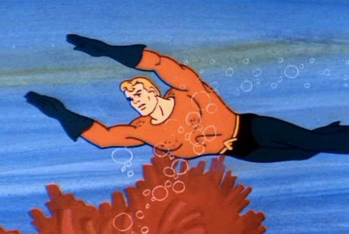 We think that Book's powers are more similar to Aquaman's, rather than a Jedi. Courtesy of Warner Bros.