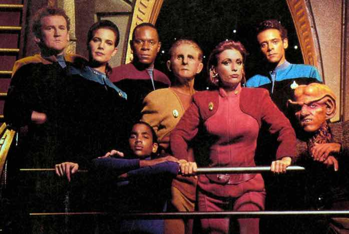 The original cast of Star Trek: Deep Space Nine. Courtesy of CBS / Paramount