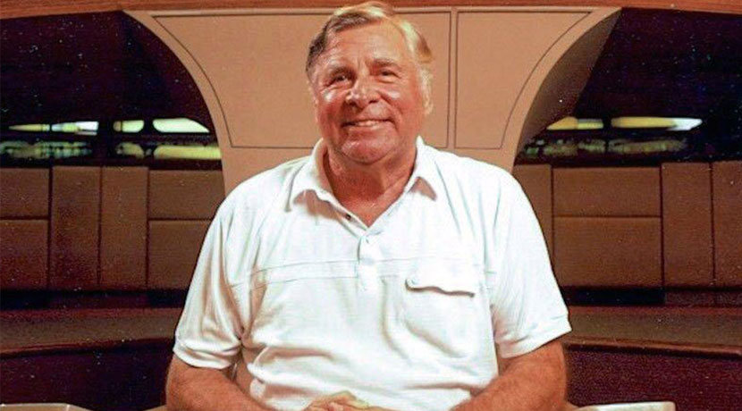 Gene Roddenberry, the creator of Star Trek and its sequel, The Next Generation. Courtesy of CBS / Paramount
