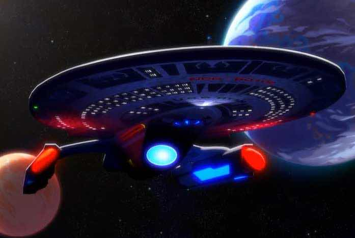 The U.S.S. Titan. NICE! Courtesy of CBS