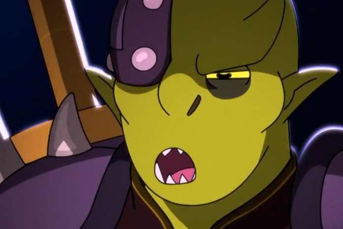 Clar, as voiced by Kurtwood Smith. Courtesy of CBS
