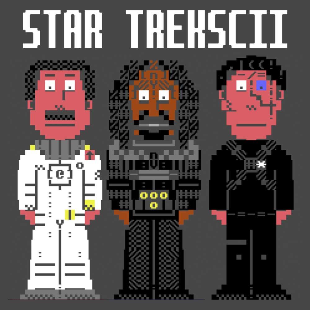 Star Trekscii