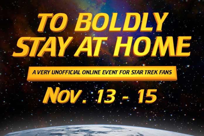 """Dr. Una McCormack will be the guest of honor at this weekends' """"To Boldly Stay At Home"""" event."""