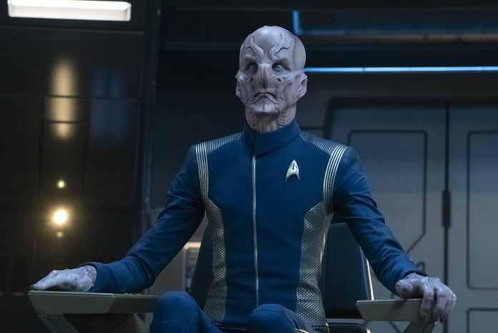 Captain Saru. Courtesy of CBS