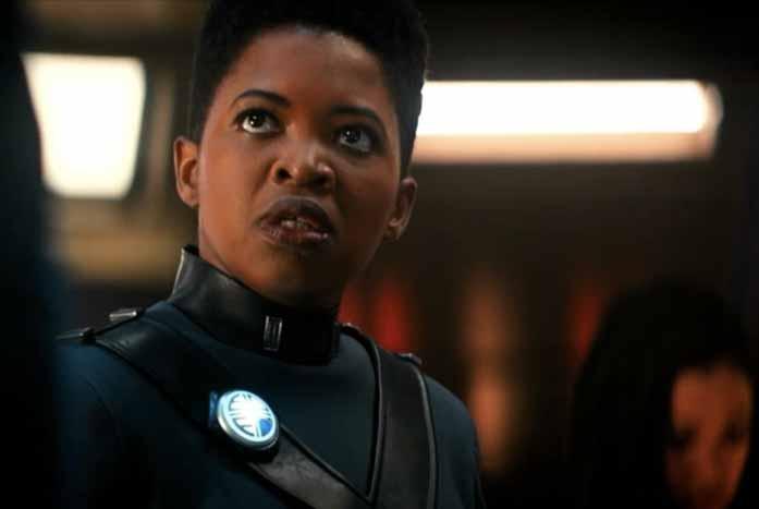 Captain Ndoye, played by Phumzule Sitole. Courtesy of CBS