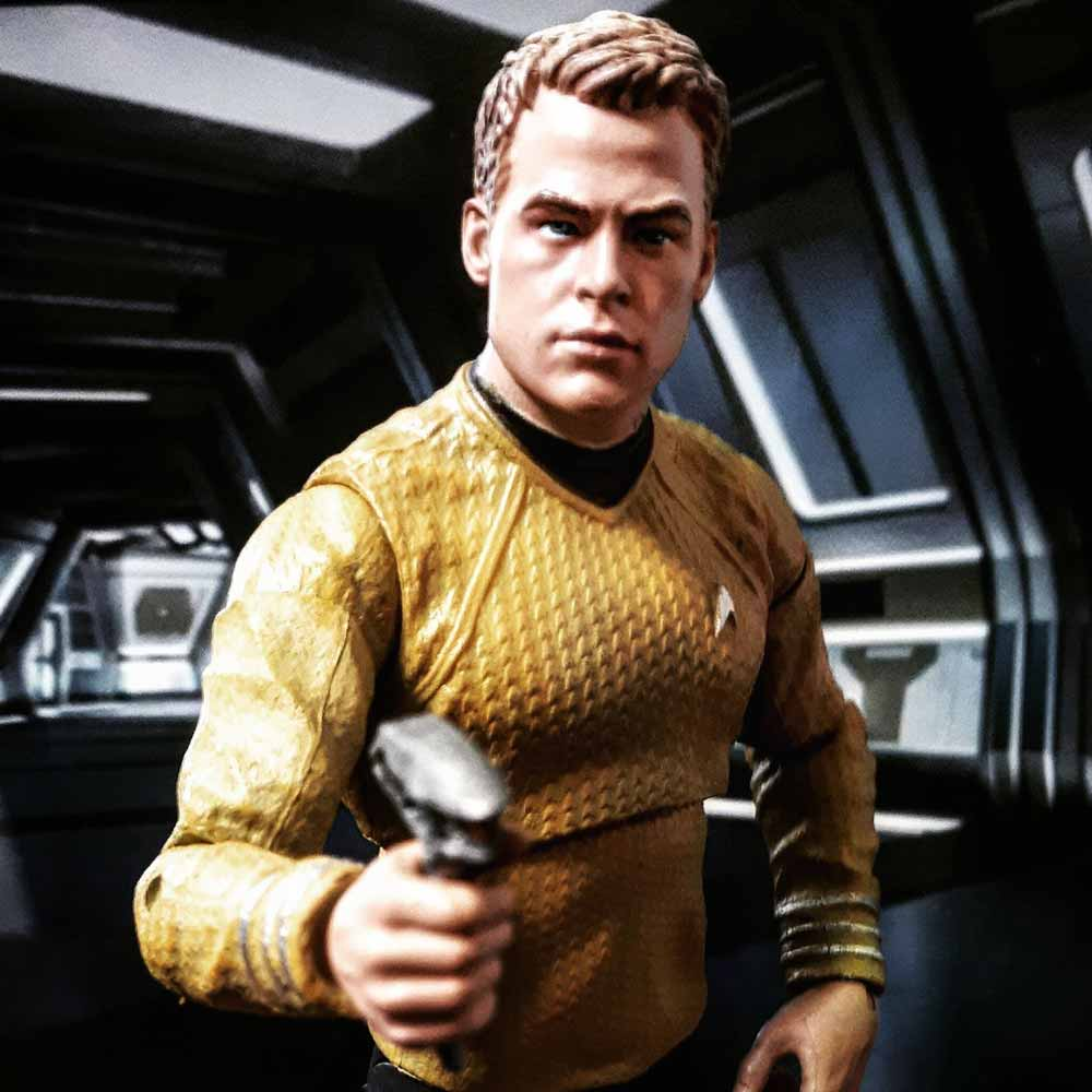 Star Trek toy photographer