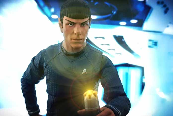A Kelvin Spock, as posed and photographed by John DeQuadros.