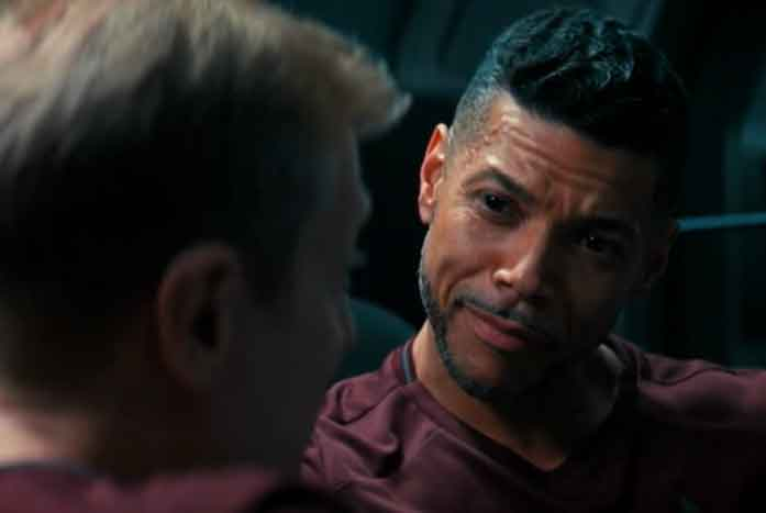 Star Trek: Discovery features a relationship between two gay characters. Courtesy of CBS