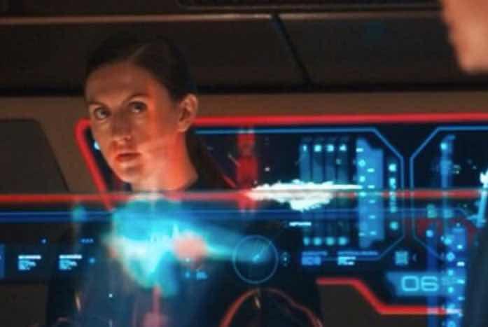 Blackwell as Lieutenant Ina. Image courtesy of Emmanuel Lopez