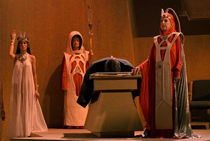 The Vulcan High Priestess T'Lar, played by Dame Judith Anderson. Courtesy of Paramount