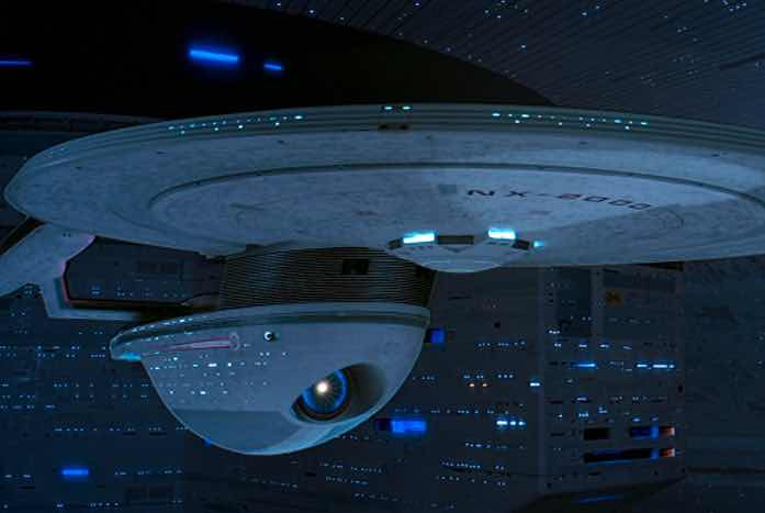 The U.S.S. Excelsior. Courtesy of Paramount
