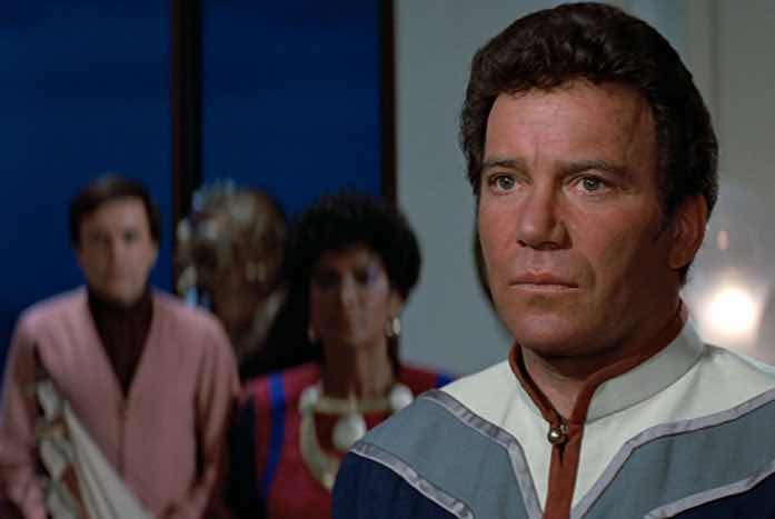 Kirk and his crew. Courtesy of Paramount