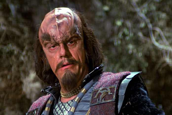 Kruge, as played by Christopher Lloyd. Courtesy of Paramount