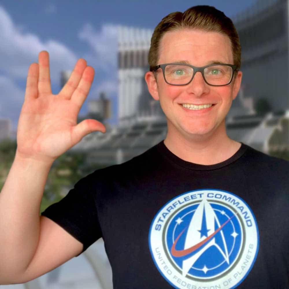 Tyler Habiger, creator of TrekPositive