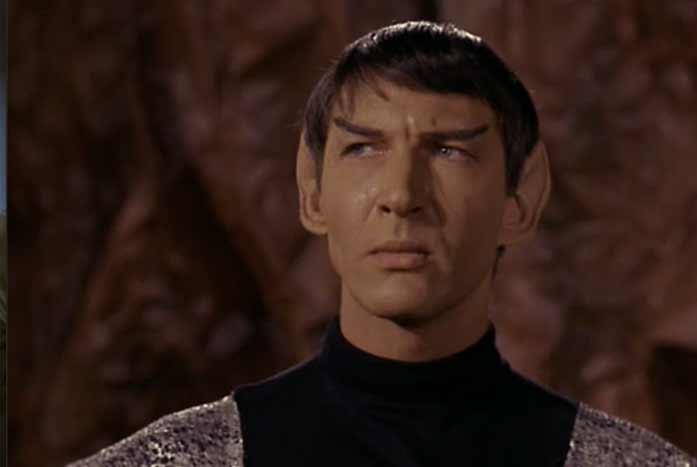 Lawrence Montaigne as Stonn. Courtesy of Paramount