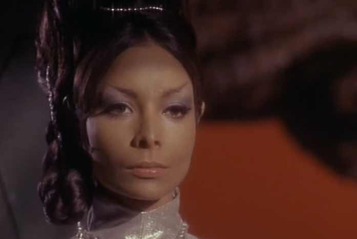 T'Pring, the wife to-be of Spock. Courtesy of Paramount.