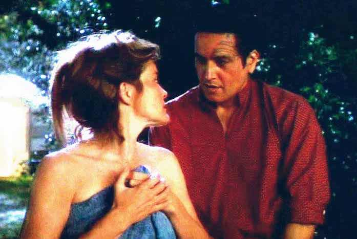 """Janeway and Chakotay in the now-classic episode, """"Resolutions."""" Courtesy of Paramount"""