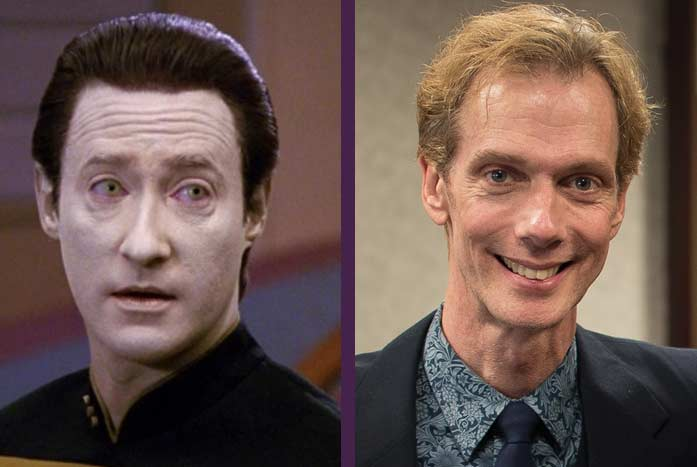 Brent Spiner as Data, and the great Doug Jones. CBS